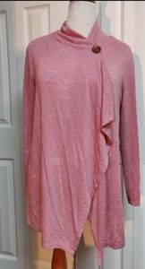 Plus size pink sweater